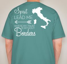 Help Support my Mission Trip to Italy this June, by buying one of these cute Comfort Colors pocket tees! THANK YOU!