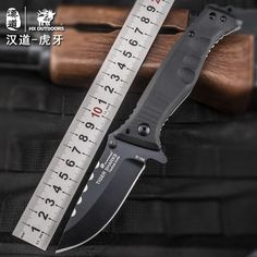 47.39$  Buy here - http://alizh6.shopchina.info/go.php?t=32750656064 - HX OUTDOORS folding knife D2 blade saber tactical fixed camping knife Hunting survival tools cold steel pocket knife hand tools  #shopstyle