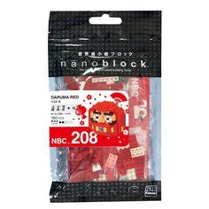 Amazon | ナノブロック だるま 赤 NBC_208 | ブロック 通販