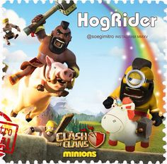 Clash of Clans  HogRider Minions