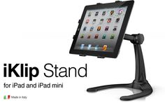 iKlip Xpand Stand is the tabletop / desktop stand for any iPad or tablet Ipad Tablet, Ipad Pro, Flexible Display, Ipad Mount, Tablet Holder, Ipad Stand, Stand Design, Ipads, Multimedia
