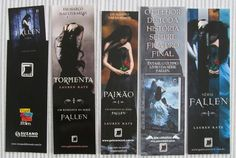 Lauren Kate, Serie Fallen, Saga, Book Lovers, Bookmarks, Romance, Books, Marque Page, Fallen Book