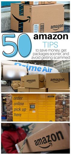 50 Amazon Tips to save money, get packages sooner, and avoid getting scammed