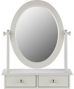 Buy Heart of House Colette Dressing Mirror with Drawer - White at Argos.co.uk, visit Argos.co.uk to shop online for Mirrors
