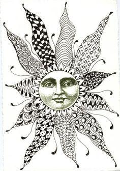 Zen Tangles on Pinterest | Zentangle, Doodles and Zentangles