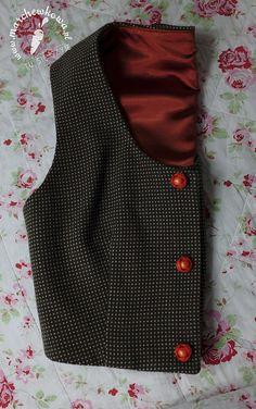Vest: made by me ( #126, Burda 10/2011) Wool: Allegro Buttons: modneguziki.pl  #60s #retro