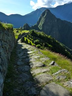 The Inca Trail to Machu Picchu. Been wanting to do this for a while. It'd be an amazing experience for me and John.