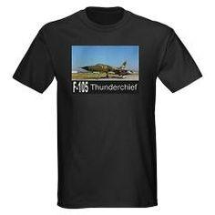 F-105 Thunderchief Dark T-Shirt #Gifts #Aircraft