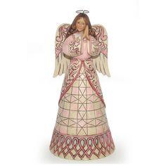 ✿Angel Figurine✿ A Prayer For Healing-Susan G. Komen Breast Cancer Awareness Angel Figurine