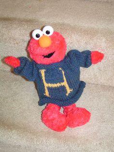 Elmo wearing Harry Potter