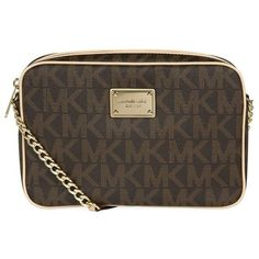 a319d15e505670 MICHAEL Michael Kors Jet Set Crossbody Bag ($190) ❤ liked on Polyvore  featuring bags