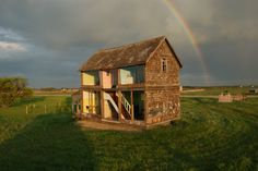 Abandoned Farm House Turned Into Life-Size Dollhouse | Gallery | Archinect