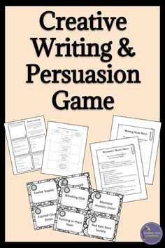 Middle school and high school English language arts students love this fun persuasion activity! It works well after teaching ethos, Instructional Strategies, Teaching Strategies, English Language, Language Arts, Rhetorical Device, Creative Writing Tips, Journal Writing Prompts, Teacher Blogs, Teacher Resources