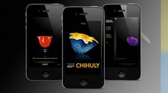 The Chihuly App,  glassblowing iPhone app