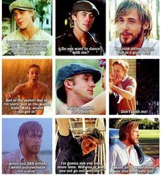 Noah in The Notebook  http://pinterest.com/conchiandrade/
