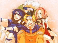 Naruto, Sakura, Sasuke, Kakashi - Naruto Picture