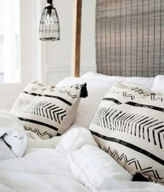 H&M pillow covers