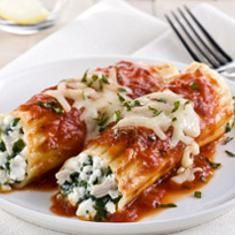 Auntie Anna's Manicotti Recipe  with 23 ingredients