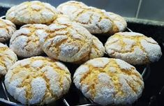 These delicious Portuguese lemon cookies (broinhas de limão) are so easy to make and make a great snack.