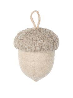 Gilt Home Collection Lodge Acorn Ornament