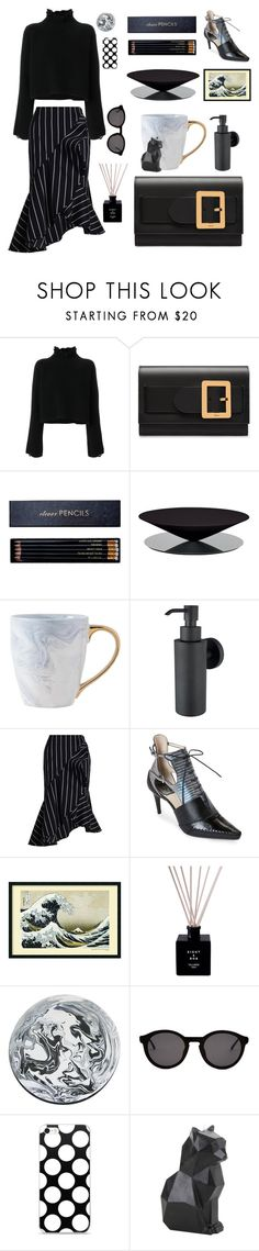 """Black Tape For A Blue Girl #44"" by jingerz ❤ liked on Polyvore featuring Golden Goose, Bally, Sloane Stationery, LA CHANCE, Zimmermann, Christian Dior, Thierry Lasry and Hot Topic"