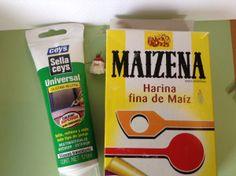 Hacer molde silicona con maizena (no alimentación)