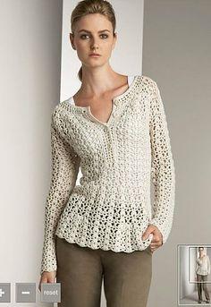 Crochet and knitting from Fri