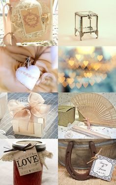 Shabby Chic Wedding By Leah--Pinned with TreasuryPin.com