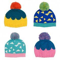 Lark Store / Graphic Knitted Beanies