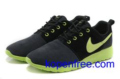 new arrival adf95 65621 Buy New Arrival Nike Roshe Run Suede Women Black Green Shoes from Reliable  New Arrival Nike Roshe Run Suede Women Black Green Shoes suppliers.