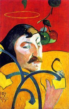 Paul Gauguin - Self Portrait with Halo
