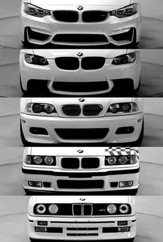 BMW 3 Series evolution