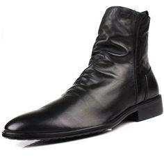 「ブーツ 革 しわ」の画像検索結果