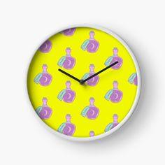 'Dream Jar' Clock by pixelpixelpixel Dream Jar, Clocks, My Arts, Art Prints, Printed, Awesome, Shop, Home Decor, Products