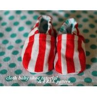 Cutest Free Baby Shoe Patterns - So Sew Easy