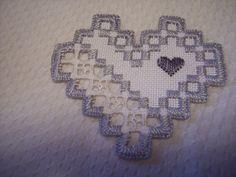 Hardanger Heart Norwegian Embroidery