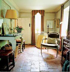 the pelmets; nicky haslam's house in england