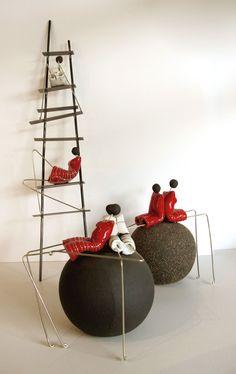 modernes sculptures de χειροποιητα | Anastasaki Céramique