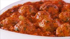 Giada De Laurentiis - Classic Italian Turkey Meatballs. When I saw these on the show this weekend I had to make them. They were great made just as the recipe describes, I cooked my meatballs one night then made the sauce the next night and served them. All turned out good and was fairly easy to do.
