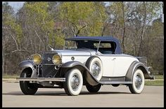 1931 Cadillac Roadster just sold today  4/14/12, for $165,000.00.
