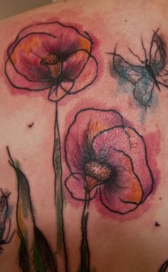 flowers paisley girly | Tattoos Insights Abstract Art Tattoo Design On Back