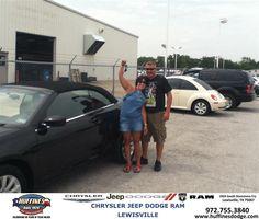 https://flic.kr/p/vGCQ7a | #HappyAnniversary to Connie Terhaar on your 2013 #Chrysler #200 from  Joe Koubek at Huffines Chrysler Jeep Dodge Ram Lewisville! | www.huffinesdodge.com/?utm_source=Flickr&utm_medium=D...