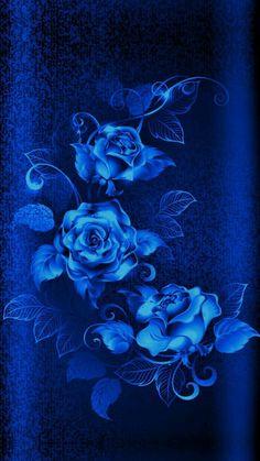 Blue Roses Wallpaper, Flower Phone Wallpaper, Heart Wallpaper, Butterfly Wallpaper, Cellphone Wallpaper, Beautiful Flowers Wallpapers, Beautiful Rose Flowers, Blue Wallpapers, Pretty Wallpapers