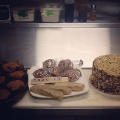 #MCM goes out to these delicious treats!! Come in and get our Paleo candy bars, Paleo butternut muffins, Paleo carrot candy bar cake, and Paleo chocolate chip cookies!!! #healthysweets