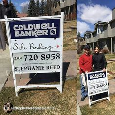 We are definitely learning that not everyone does real Estate signs the same way in Portland...but we're glad our cute riders look good on all of em! www.atrestore.com  Repost from : @stephaniereedrealestate Happy seller! Under contract in 9 days....the Hailey market and @stephaniereedrealestate are moving buyers and sellers!!!