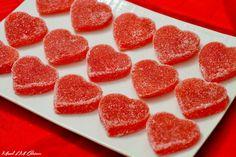 Wooloo   Jujubes maison à la compote de pomme pour la St-Valentin