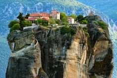 Monasteries in the Air – Meteora, Greece