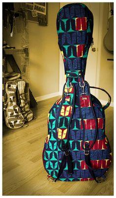 7823e4e08e1f Items similar to OOAK Ready-to-Ship Custom Guitar gig bag case