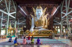 MYANMAR Reisetipps: YANGON | Hier bekommst du die besten Insidertipps für deine Reise nach Yangon in Myanmar: Hotels, Gästehäuser, Kosten, Anreise, Karten, Maps, Restaurants, Eintrittspreise, Reiseberichte uvm. www.MyanmarBurmaBirma.com | Pagode Nga Htat Gyi