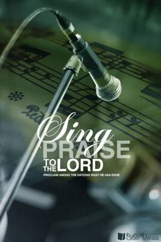 Sing Praise to the Lord proclaim to the nations what He has done!